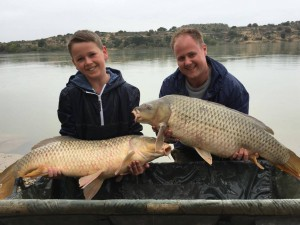 Matt and Reece visiting the Ebro part 2