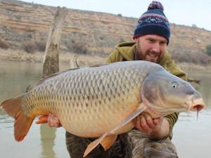 Big winter carp!